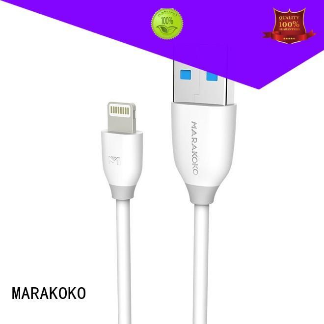 MARAKOKO safe lightning charger cable high quality for ipad