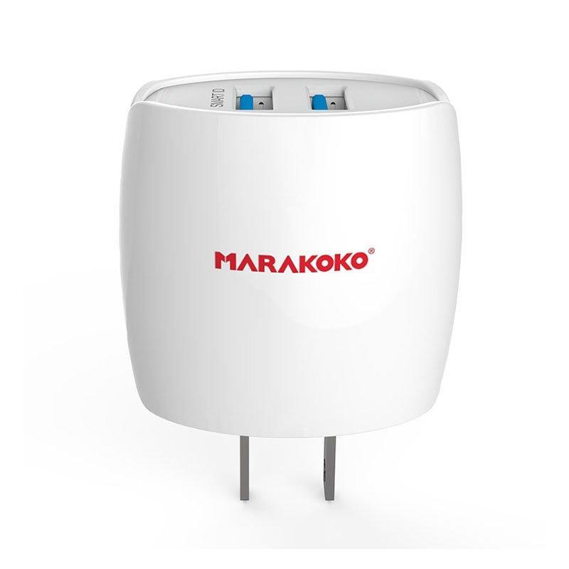 MA2 2-port USB Wall Charger 2.4A Output US Plug