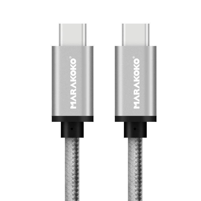 M-TC02USBType Cto USB Type C Braided Cable 1.5M (4.5FT)