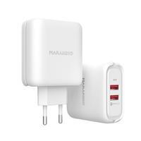 MA21 36W Output 2-port USB QC3.0 Quick Wall Charger EU Plug