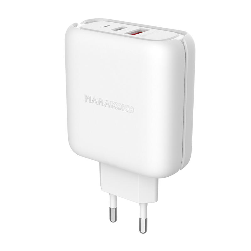 MA27 42W Output Type C and QC3.0 Quick Charger EU Plug