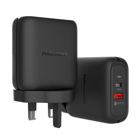 MA29 42W Qualcomm Quick Charge 3.0 and PD 3.0 Wall Charger U.K