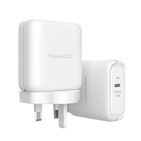 MA26 USB PD3.0 Quick Charger 45W Output UK Plug