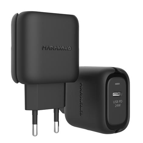 MA33 24W Ouput USB C Wall Charger Power Delivery 3.0 EU Plug