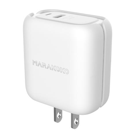 MA34 24W Output Type C Wall Charger PD3.0 Quick Charge US Plug