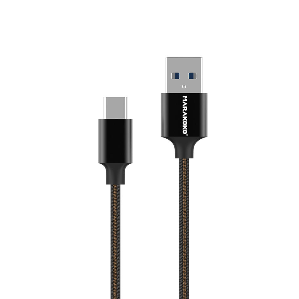 MCB22 USB3.0 to USB Type C Braided Cable 20CM (0.6FT)