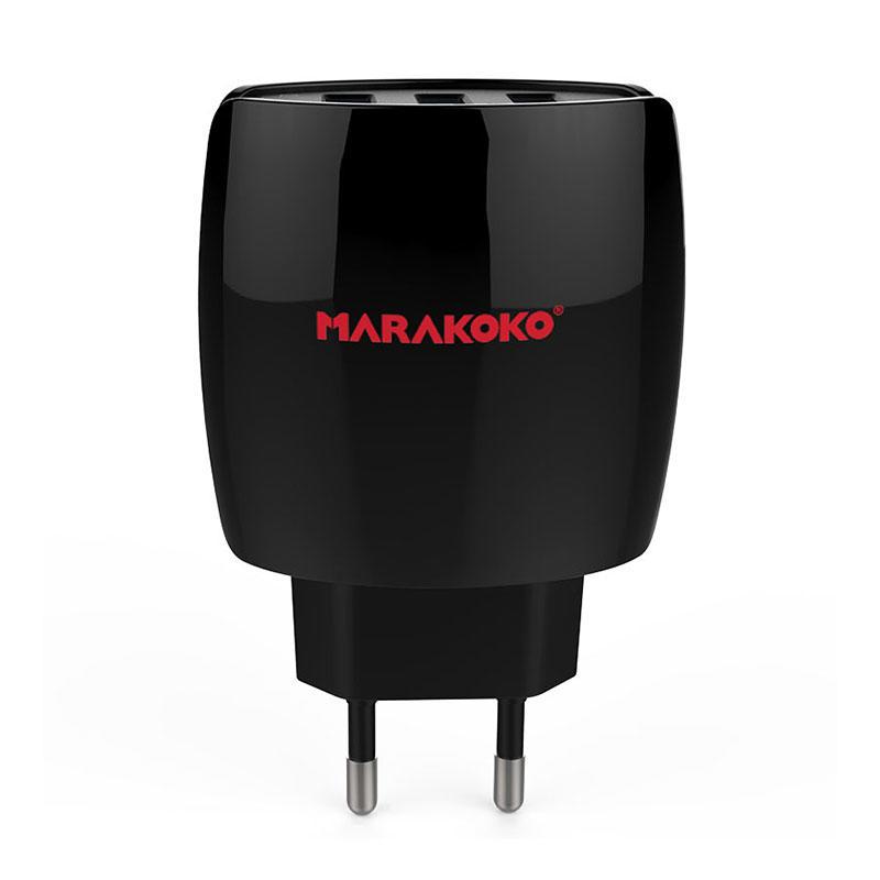 MA5 3-port USB Wall Charger 3.4A Output EU Plug