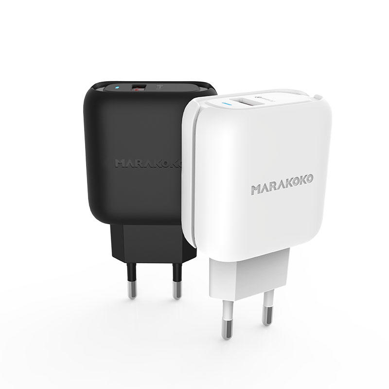 MA36 24W Output Quick Wall Charger for Travel EU Plug