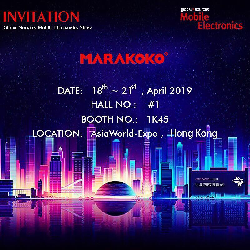 MARAKOKO Attend the  2019.04 HK Fair