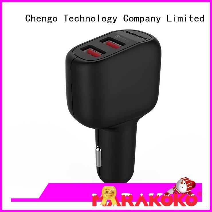 MAC4 36W Dual USB QC 3.0 Quick Car Charger Fast Charging