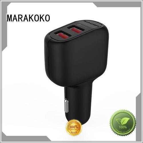 smart 3.0 car charger high capacity for MacBook MARAKOKO
