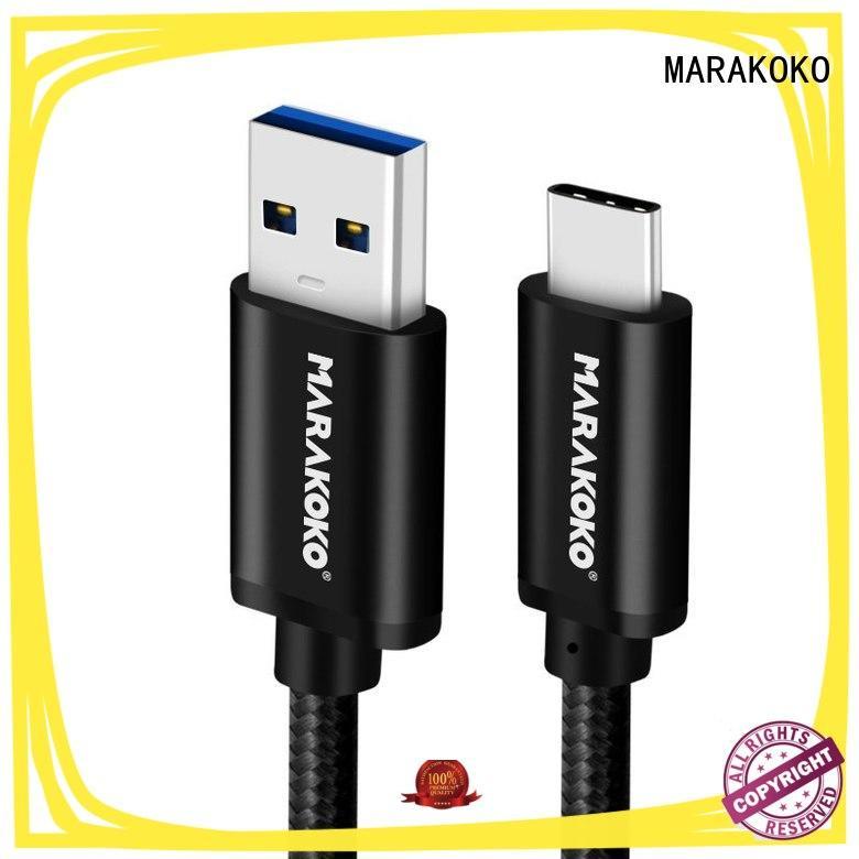 MARAKOKO nyloncable usb c data cable high quality for LG