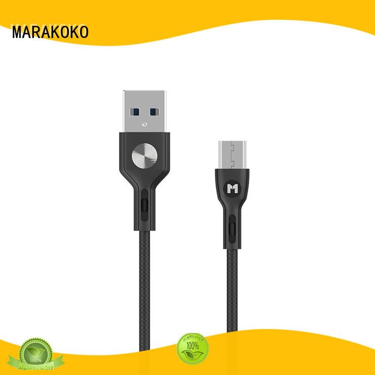 MARAKOKO white usb cable for android phone manufacturer for Moto Z