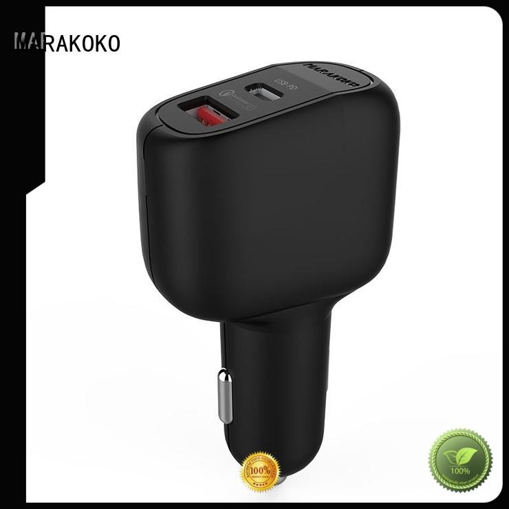 MAC5 42W Output Quick Car Charger Type C PD Car Charger