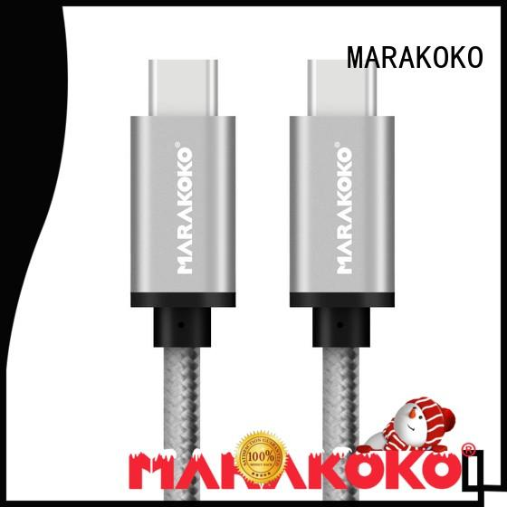 MARAKOKO typec usb 3 to usb c cable high efficiency for HTC