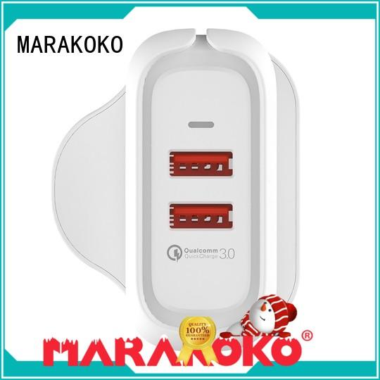 MARAKOKO fireproof best portable usb charger charger for Huawei