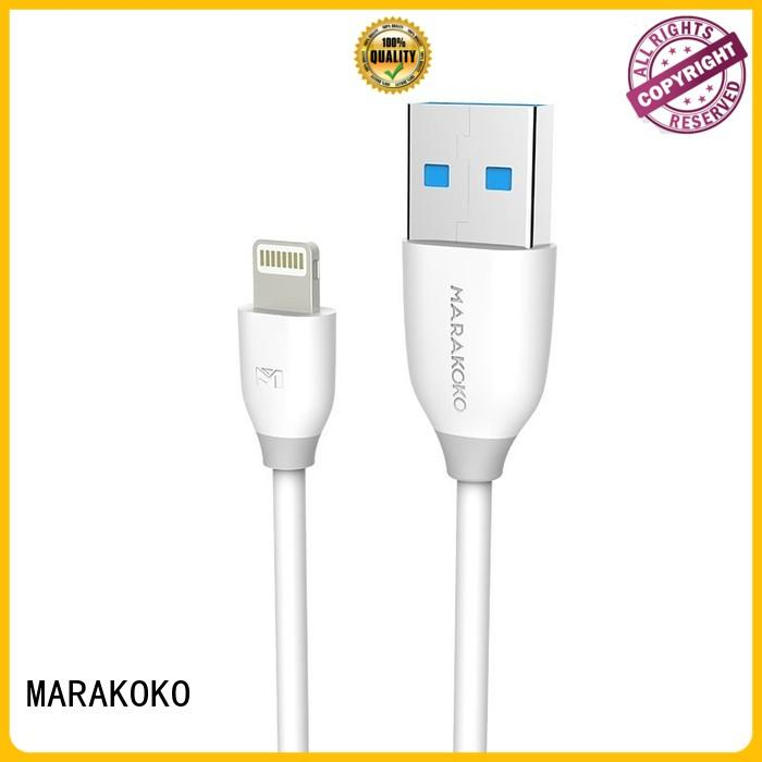 MARAKOKO safe best lightning cable supplier for ipod