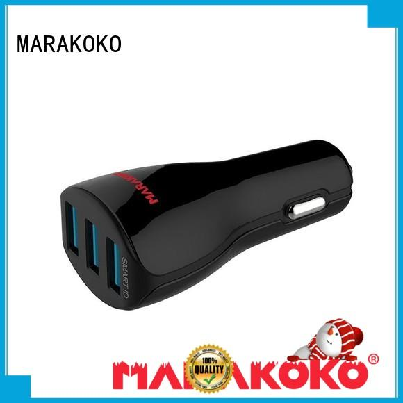 MARAKOKO quick best dual usb car charger charger for Xiaomi mobile phone