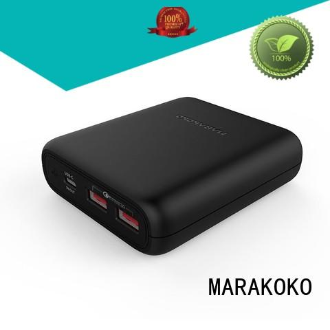MARAKOKO security Fast Charging Power Banks high efficiency for iphone