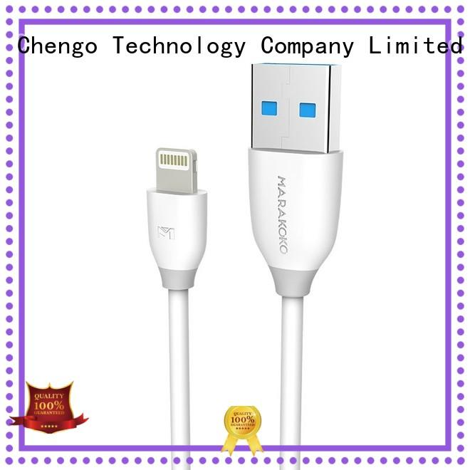 flexible best lightning cable white high quality for iphone
