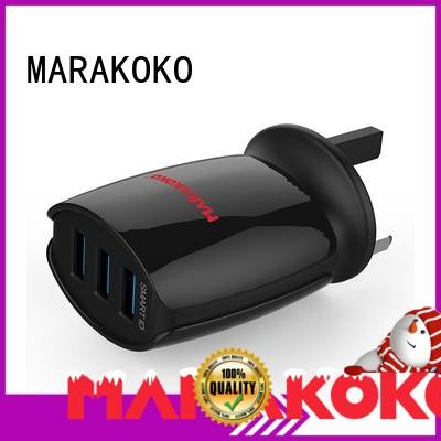 MARAKOKO safe wall plug usb charger on sale for Bluetooth Speaker Headset