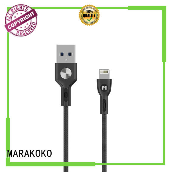 MARAKOKO cable micro usb to lightning cable directly price for xiaomi